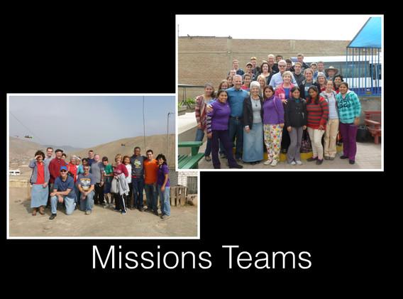 Visiting Mission Teams