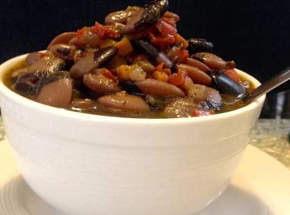 Rose Marie's famous Pot of Beans
