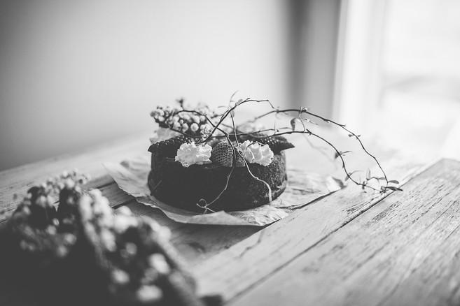 CAKE AU CHOCOLAT ET FRAISE DE PRINTEMPS-