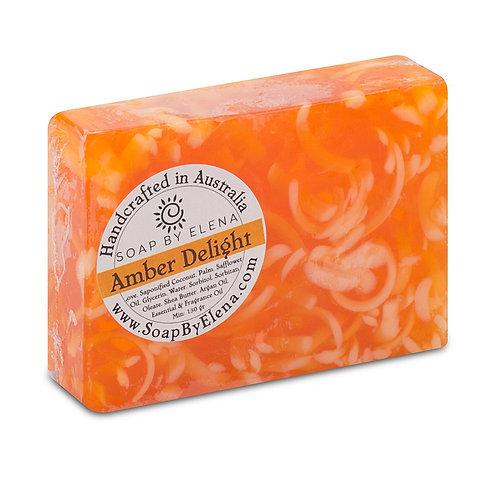 澳洲【SOAP BY ELENA】琥珀 手工養膚皂 130g
