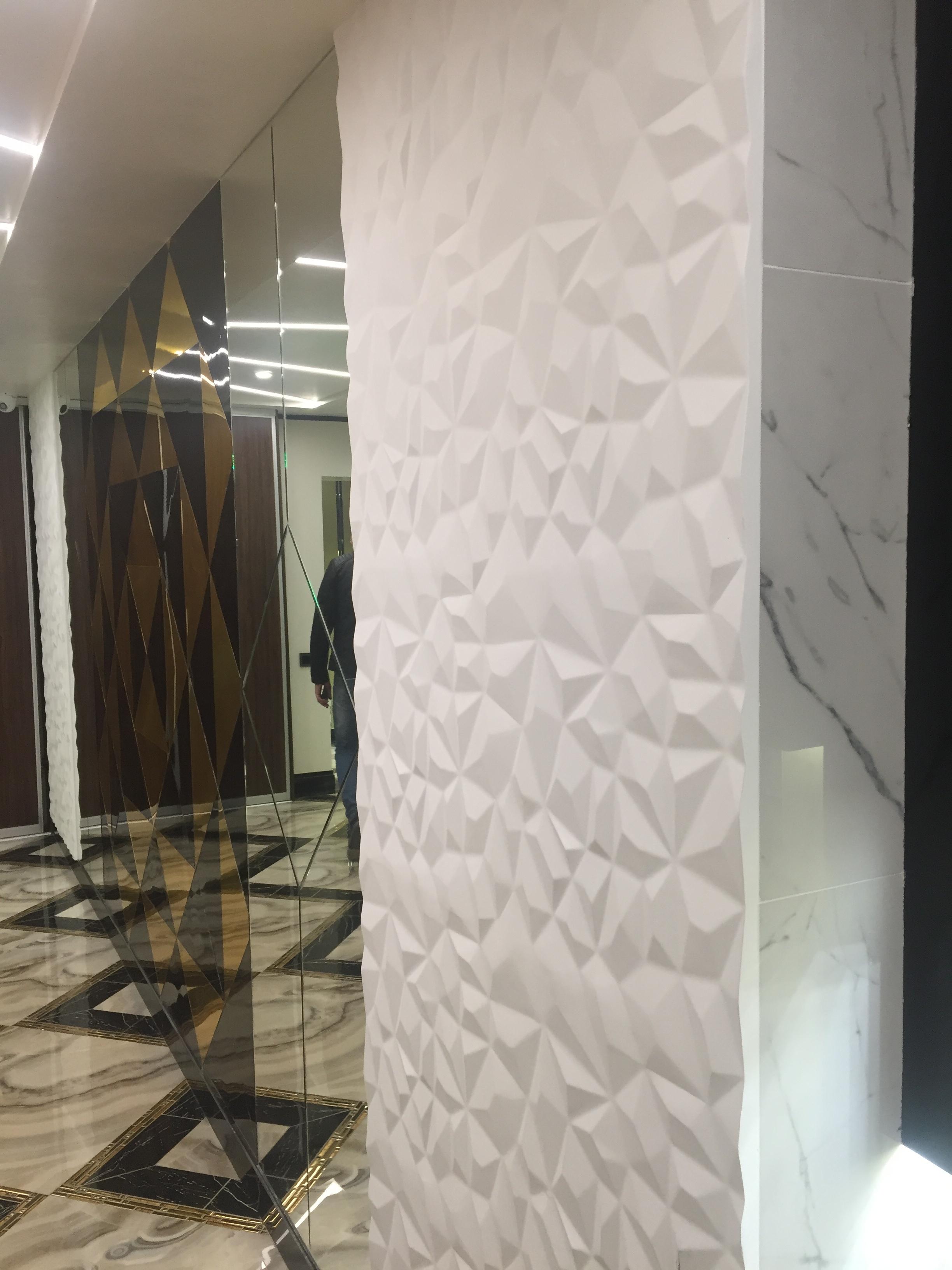 """Дизайнерские, декоративные гипсовые 3D панели """"Скалы"""""""