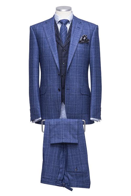 Single Breast Super 150s Loro Piana Suit With Waistcoat