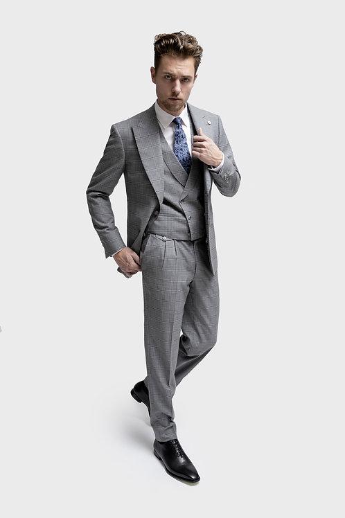 Loro Piana Grey 3pcs Business Suit