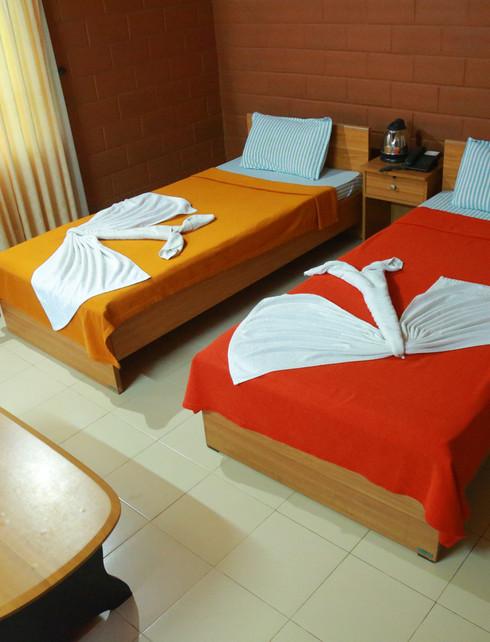 Twin Coat Bedroom