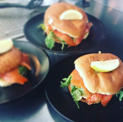 Come smash our Smoked Salmon & Cream Cheese Bagel __coffee_sydney #cafelife #loxbagel #bagel #coffee