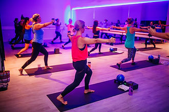 Fitness Studio Workout Class - A Mom's Village