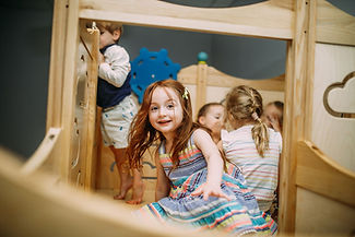 Kids Playing in the Playroom - A Mom's Village