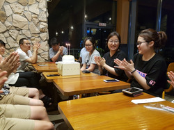 Farewell party for Dr. Um