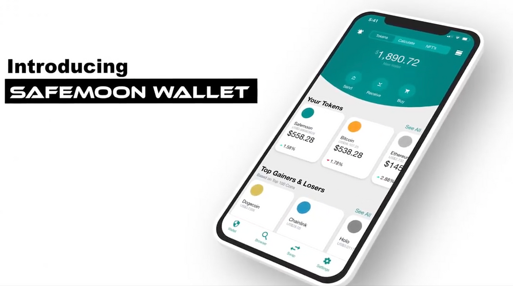 The Safemoon wallet is finally live on iOS