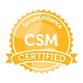 certified scrum master seal