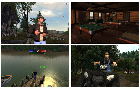 The Great Outdoors Virtual World Demo and Game