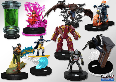 HeroClix Collectible Miniatures
