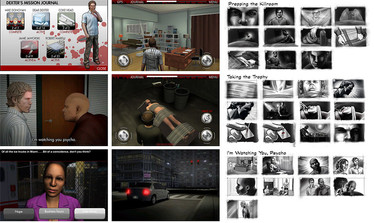 Dexter Mobile Game
