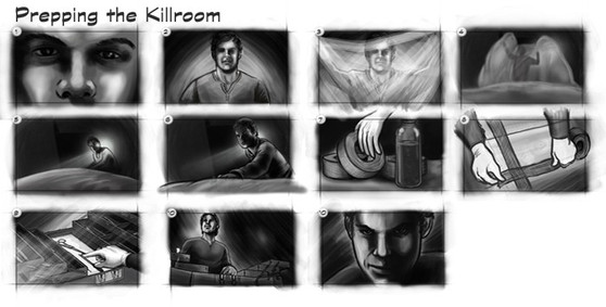 Dexter: The Game Storyboard