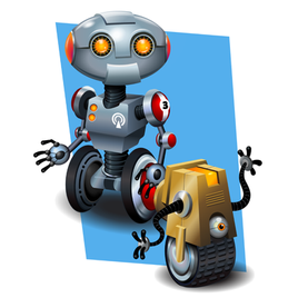 More Cartoon Robots