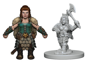 Female Dwarf Concept Design