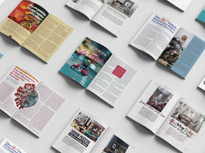 Editorial Layout & Typography