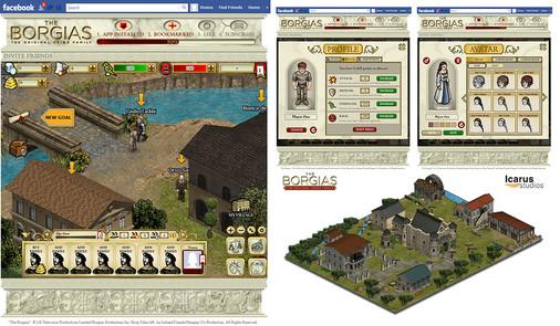 Borgias Social Game (Facebook)