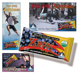 Energy Bar Packaging & Ads