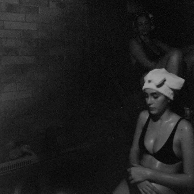 Two women in a Sauna, 2018