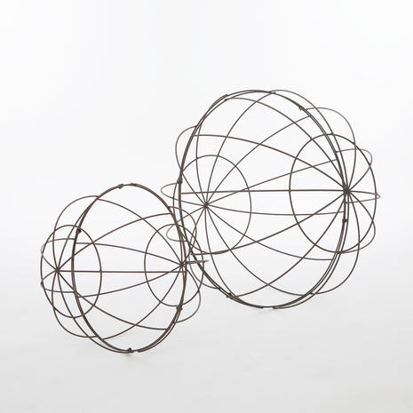 Sphères métaliques
