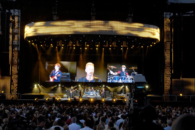 THE POLICE - REUNION - 2007