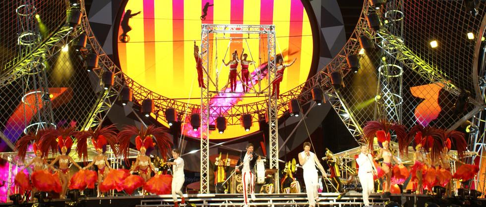 TAKE THAT - CIRCUS TOUR - 2009