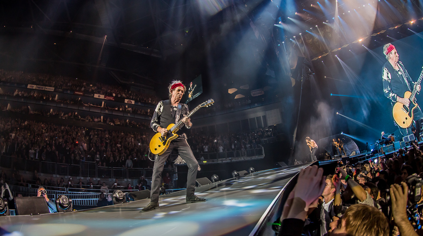 THE ROLLING STONES - 50TH ANNIVERSARY - 2012