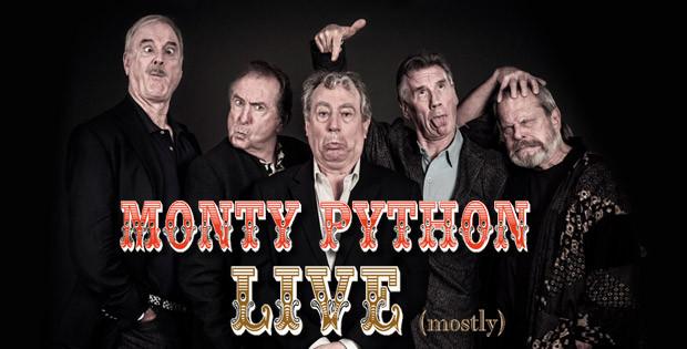MONTY PYTHON - LIVE (ALMOST)