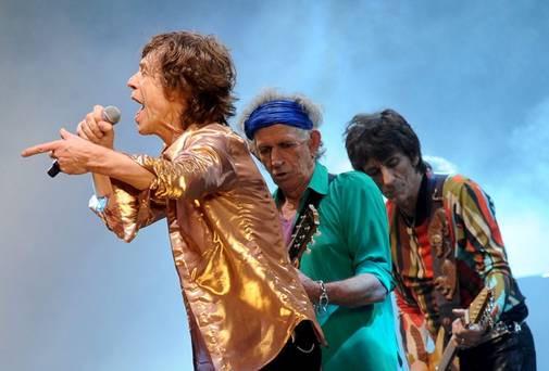 THE ROLLING STONES - GLASTONBURRY - 2013