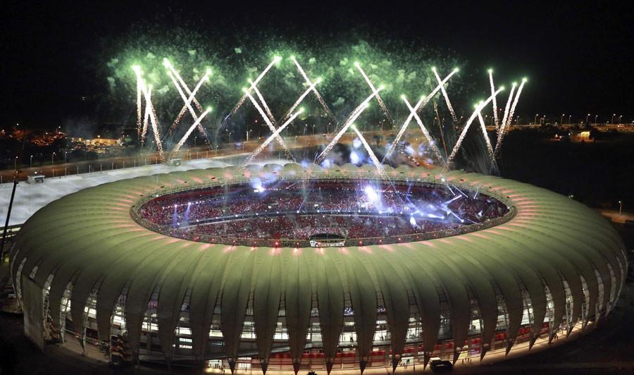 BEIRA RIO STADIUM OPENING - PORTO ALLEGRE