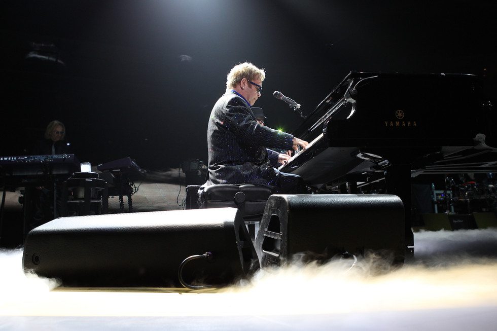 ELTON JOHN - DIVING BOARD - 2013
