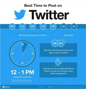 INFOGRAPHIC] THE BEST TIME TO POST ON SOCIAL MEDIA IN 2019