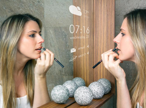 THE MAGIC OF SMART MIRRORS: ARTIFICIAL INTELLIGENCE, AUGMENTED REALITY AND THE INTERNET OF THING.