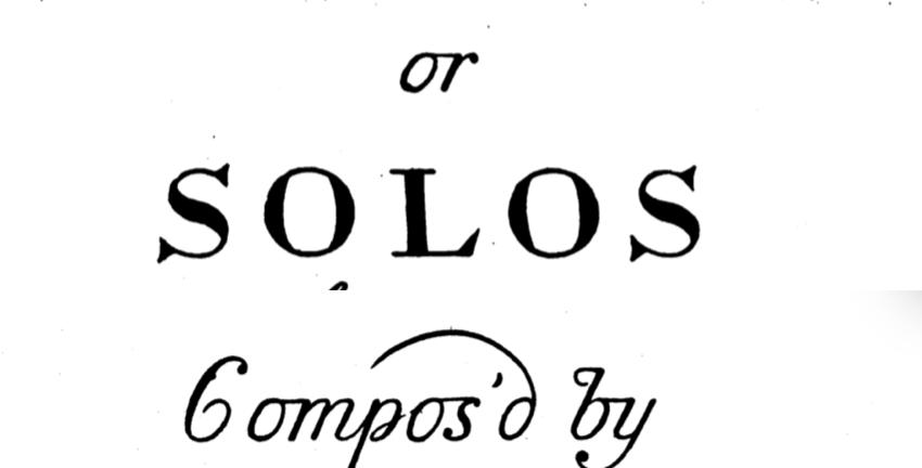 Backing Track: Barsanti – Recorder Sonata in G minor, op. 1, no.3