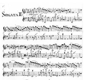 Backing Track - Bigaglia: Recorder Sonata in A minor