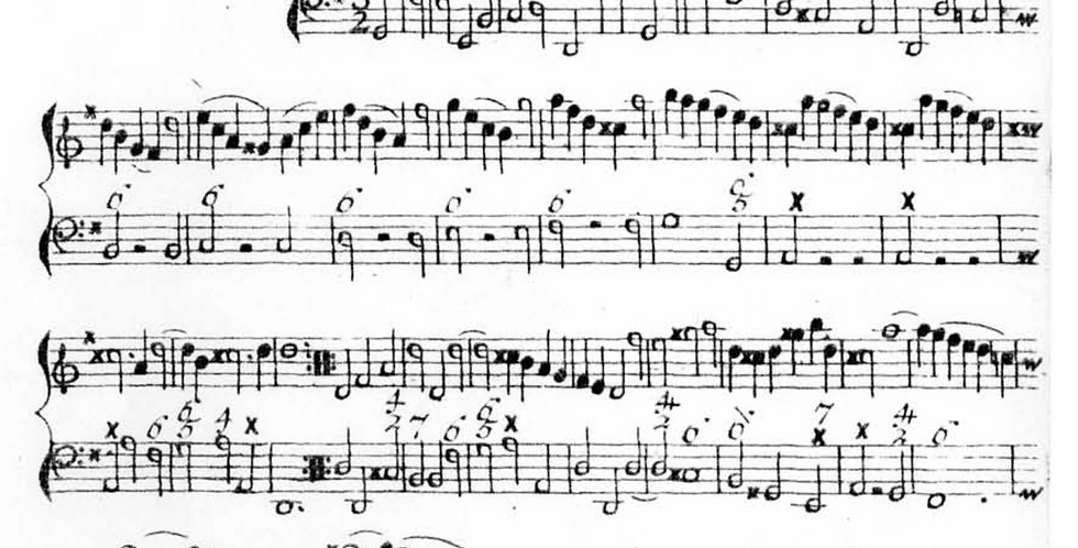 Backing Track - Bigaglia: Sonata in G major, op 1, no2