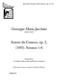 Jacchini - Sonate da Camera, op. 2, 1-6. Digital Download