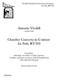 Vivaldi - Chamber Concerto in G minor: La Notte, RV104. Digital Download.