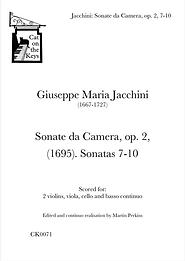Jacchini - Sonate da Camera, op. 2, 7-10. Digital Download