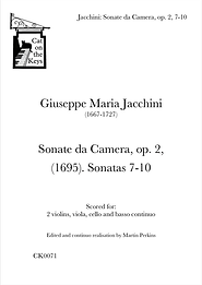 Jacchini - Sonate da Camera, op. 2, 7-10. Digital Download