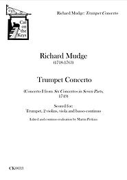 Mudge - Trumpet Concerto. Digital Download