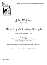 Weldon - Blessed be the Lord my Strength. Digital Download.