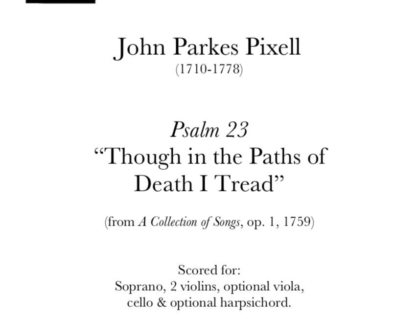 Pixell - 'Though in the Paths of Death I Tread'
