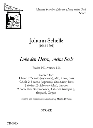 Schelle - Lobe den Herrn, meine Seele - SCORE. Digital Download.