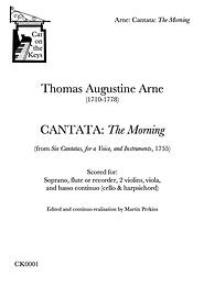 Arne - Cantata: The Morning. Digital Download