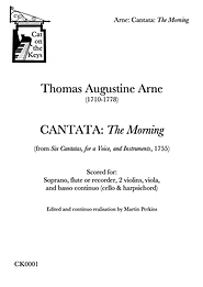 Arne - Cantata: The Morning. Digital Download