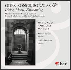 'Odes, Songs, Sonatas, &c' CD 2012