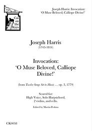 Harris - Invocation: 'O Muse Beloved, Calliope Divine!'. Digital Download.