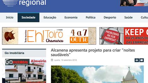 Apresentação do projeto em Alcanena - Rede Regional